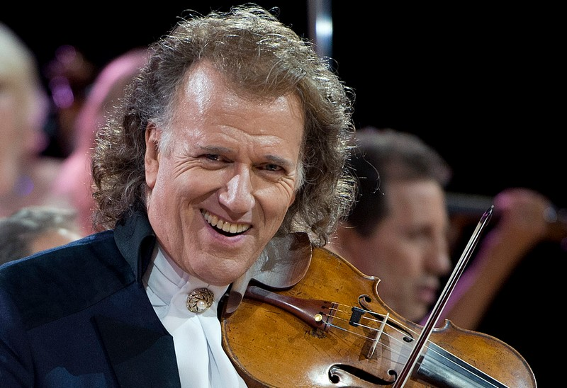 Andre Rieu concert in Prague in 2017