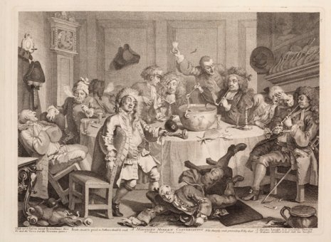 Utstilling om  William Hogarth