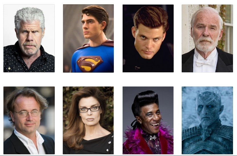 Some of the celebrities that will come to Comic-Con in Prague in 2020