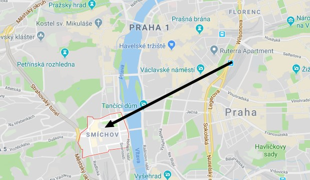 The location of the Oktoberfest in Prague
